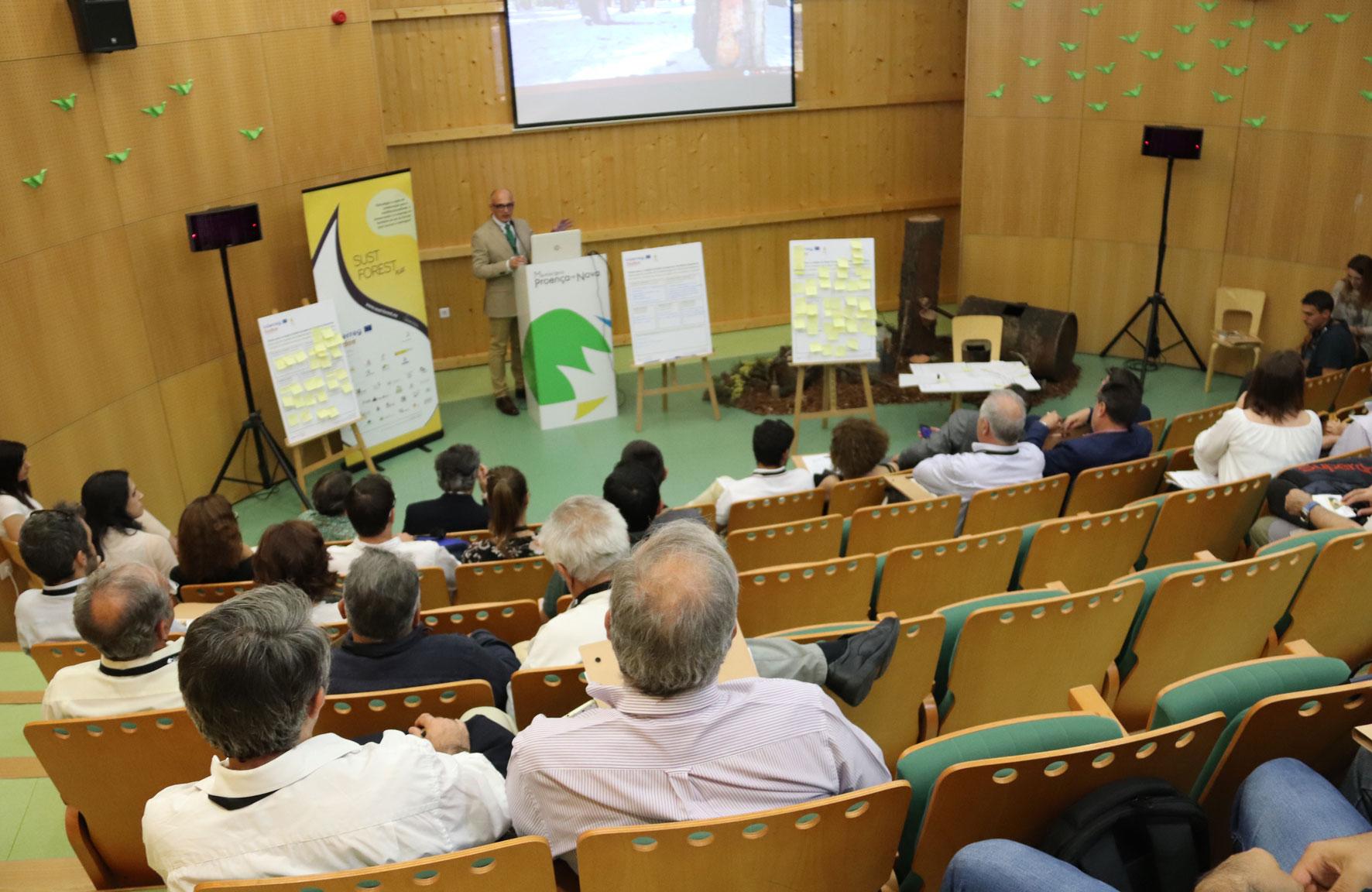Sesión de trabajo_Jornadas Internacionales Montes con Futuro_30052019