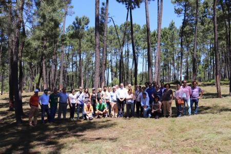 Visita de campo_Jornadas Internacionales Montes con futuro_31052019